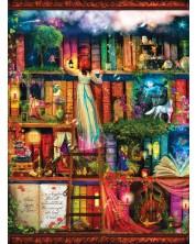 Puzzle SunsOut de 1000 piese - Raftul de carti al cmorilor, Amy Stewart