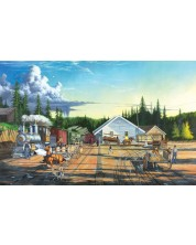 Puzzle SunsOut de 550 piese - Keith Brown, End of the Line