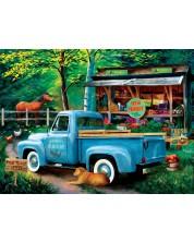 Puzzle SunsOut de 1000 piese - Tom Wood, Woodys Farm Stand