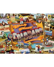 Puzzle SunsOut de 1000 piese - Ward Thacker Studio, Mile High Colorado