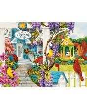 Puzzle SunsOut de 1000 piese - Nancy Wernersbach, Wisteria Cottage