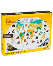 Puzzle New York Puzzle de 300 piese - Lumea animalelor