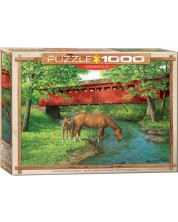 Puzzle Eurographics de 1000 piese - Apa dulce sub pod, Persis Clayton Weyrs -1