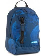 Ghiozdan scolar Mitama Tag - Deep Blue + cadou
