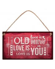 Placuta - Love is old. Love is new. Love is all. Love is you -1