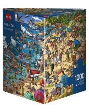 Puzzle Heye de 1000 piese - Tarmul marii, Boirgit Tanc
