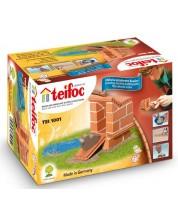 Set creativ  de construit Teifoc - Casuta pentru rate -1