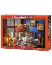 Puzzle Castorland de 500 piese - Timp pentru ceai