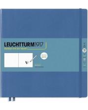 Agenda Leuchtturm1917 Sketchbook - Patrat, albastru
