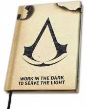 Agenda ABYstyle Games: Assassin's Creed - Assassin's Crest, format A5