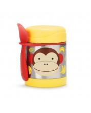 Termos pentru mancare Skip Hop Zoo - Maimuta, din otel inoxidabil -1