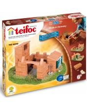 Set de constructie creativ Teifoc - Castel / Casa -1