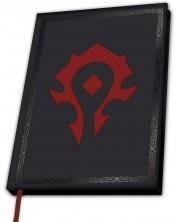 Carnetel ABYstyle Games: World of Warcraft - Horde Symbol, format A5
