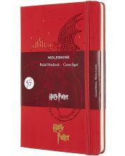 Agenda cu coperti tari Moleskine Limited Editions Harry Potter - Dragon, file liniate