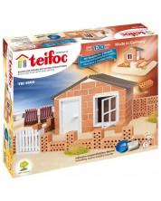 Set de constructie creativ Teifoc - Casa de vacanta -1