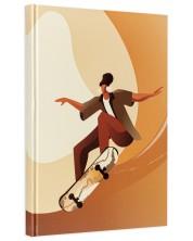 Caiet cu coperta dura  ArtNote А4 - Skateboarder, 96 file