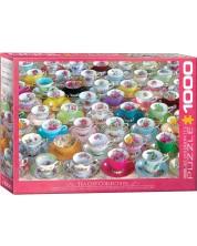Puzzle Eurographics de 1000 piese - Colectie de cescute pentru ceai -1