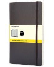 Agenda cu coperti moi Moleskine Classic Squared - Neagra, pagini cu patratele