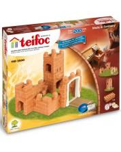 Set de constructie creativ Teifoc - Castel mic -1