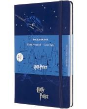 Agenda cu coperti tari Moleskine Limited Editions Harry Potter - Flying Car, pagini liniate
