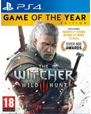 The Witcher 3 Wild Hunt GOTY Edition (PS4)