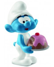 Figurina Schleich The Smurfs - Strumf Greedy