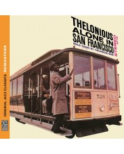 Thelonious Monk - Thelonious Alone In San Francisco [Original Jazz Classics Remasters] - (CD)