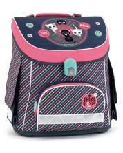 Ghiozdan scolar Ars Una Think Pink - Compact -1