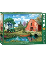 Puzzle Eurographics de 1000 piese - Dominic Davison The Red Barn