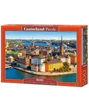 Puzzle Castorland de 500 piese - Stockholm, vechiul oras
