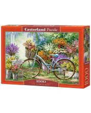 Puzzle Castorland de 1000 piese - Flori colorate, Dona Gelsinger