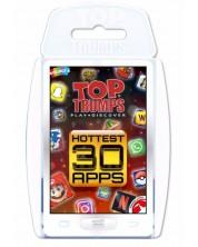 Joc cu carti Top Trumps - Hottest Top 30 Apps