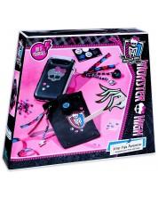 Set creativ Totum Monster High - Decoreaza singur, accesorii pentru telefon -1