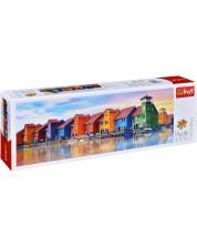 Puzzle pamoramic Trefl de 1000 piese - Groningen