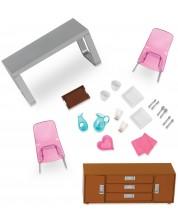 Set mobilier pentru papusi Lori Dolls - Sufragerie -1