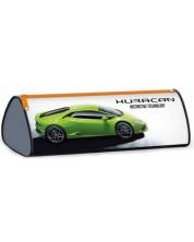 Penar scolar triunghiular Ars Una Lamborghini - Huracan, verde