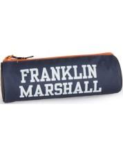 Penar scolar cilindric Franklin and Marshall - Albastru inchis