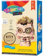 Set creativ Colorino Hobby -Fa-ti singur ghiveci pisicuta
