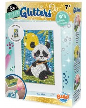 Set creativ Buki France - Goblen cu diamante, panda