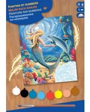 Set creativ de desen KSG Crafts - Capodopera, Sirena -1
