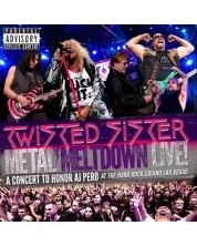 Twisted Sister - Metal Meltdown (CD+Blu-Ray+DVD)