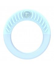 Inel gingival Twistshake - Albastru, 1luni+ -1