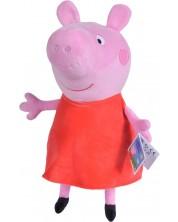 Jucarie de plus Simba Toys Peppa Pig -  Purcelusa Peppa, 33 cm