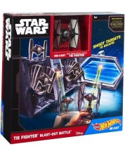 Set de joaca Hot Wheels Star Wars - Tie Fighter