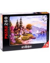 Puzzle Anatolian de 260 piese - Liniste, Dennis Lewan