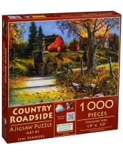 Puzzle SunsOut de 1000 piese - Drum de tara, Jym Hansel