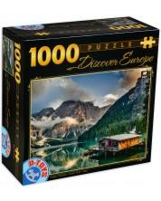 Puzzle D-Toys de 1000 piese - Lacul Braies, Italia