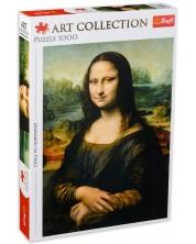 Puzzle Trefl de 1000 piese - Mona Liza
