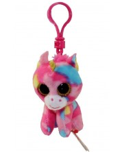 Breloc TY Beanie Boos - Unicorn multicolor Fantasia -1