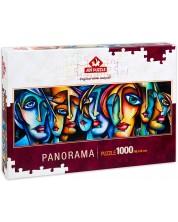 Puzzle panoramic Art Puzzle de 1000 piese - Stil urban, Michael Lange